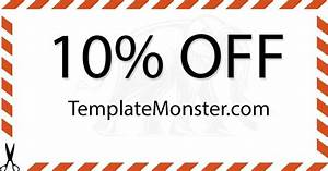 10 off coupon template pictures to pin on pinterest With template monster coupons