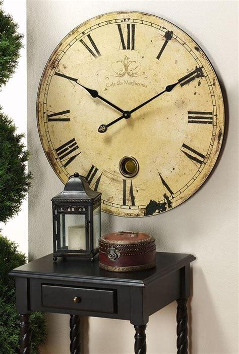 decorate  extra large decorative wall clocks
