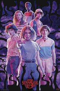stranger, things, 3, -, group, poster, -, walmart, com