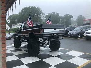 1987 K20 Lifted Pickup Truck On 44 U0026quot  Tires  383 Stroker