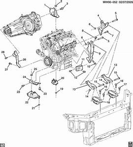 2007 Chevy Impala Engine Diagram