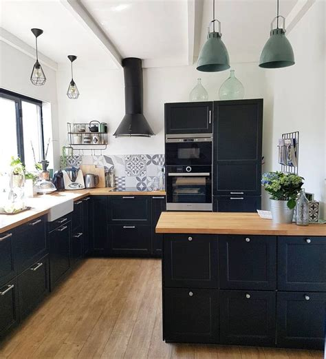 cuisine ikea laxarby cuisine ikea laxarby cuisine et bois esprit bistro renovation maison cuisine