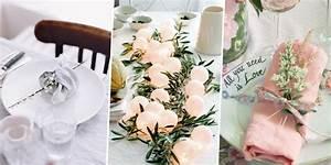 Deco De Table Pour Un Mariage DIY Marie Claire