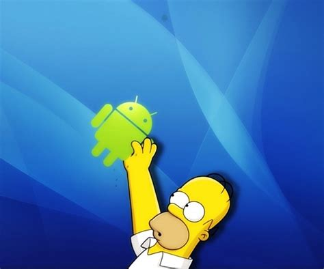 Simpsons Android Wallpaper Android wallpaper Splash
