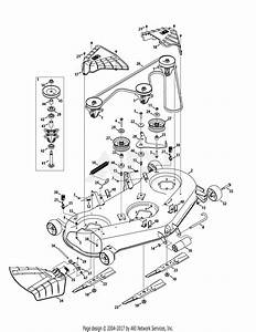 Troy Bilt 13aqa2kw011 Super Bronco 54  2015  Parts Diagram