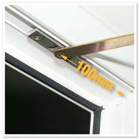 upvc door restrictor arm stay 335mm pvc