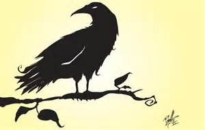 Crow Silhouette Vector