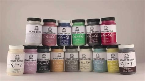 decor chalk paint learn how to use folkart 174 home decor chalk with cathie and