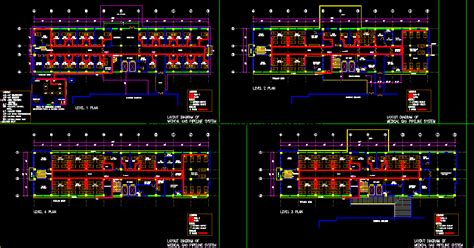 hostels dwg plan  autocad designs cad