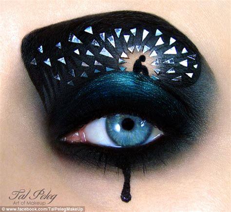 makeup artist creates incredible art  somebodys