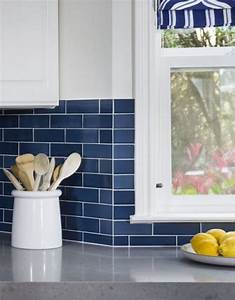 100 exceptional kitchen backsplash ideas for modernity With kitchen colors with white cabinets with navy bumper sticker