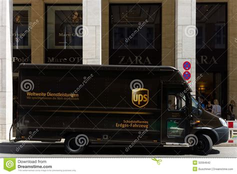Car Service Company by Corporate Car United Parcel Service Ups Editorial