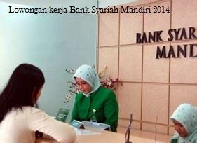lowongan kerja bank syariah mandiri tingkat sma