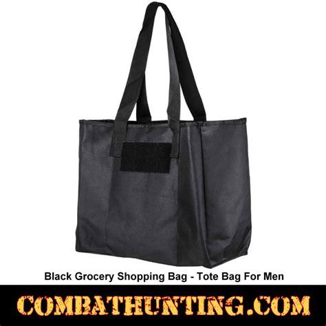 csbb black grocery shopping bag tote bag  men military gear bags
