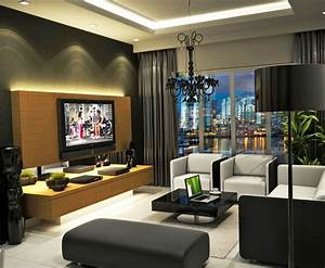 25, Amazing, Modern, Apartment, Living, Room, Design, And, Ideas