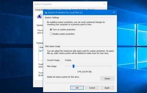 how to fix windows 10 system restore not working