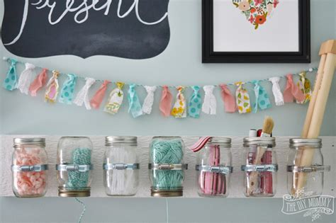 diys to do make hanging jar craft storage 12monthsofdiy the