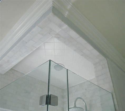carrara marble tile shower contemporary bathroom