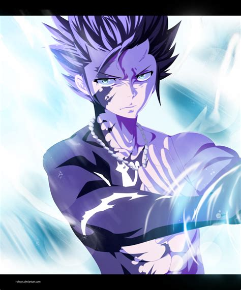 fairy tail  gray fullbuster  action   devos