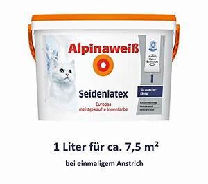 Test Wandfarbe Weiß : alpina wandfarbe wei test vergleich hier spielt die ~ Lizthompson.info Haus und Dekorationen
