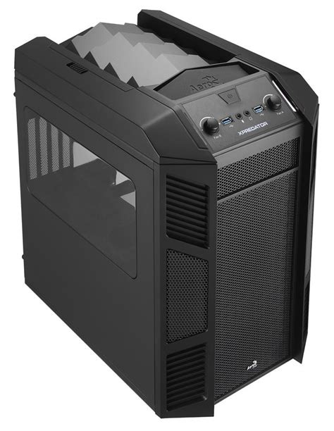 Xpredator Cube Case from Aerocool Made for Little Super PCs – Gallery