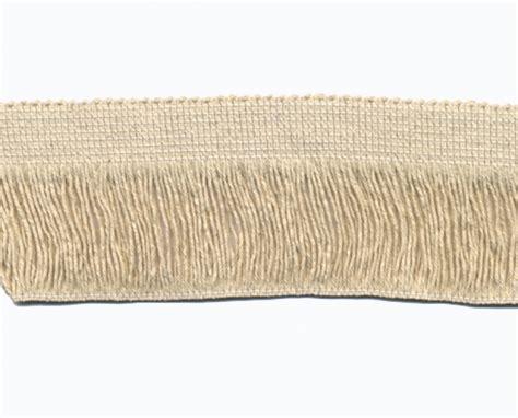 mercerie en ligne tous les accessoires de coutures frange pour tapis 6 cm 233 cru au m 232 tre ou