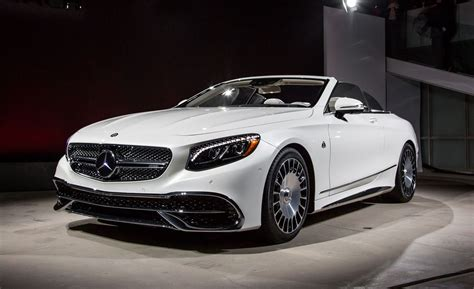 Due out in 2020, the suv starts at $161,550 including destination. Mercedes-Maybach S650 Cabriolet Photos and Info - News ...