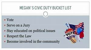 My Civic Duty B... Civics Definition