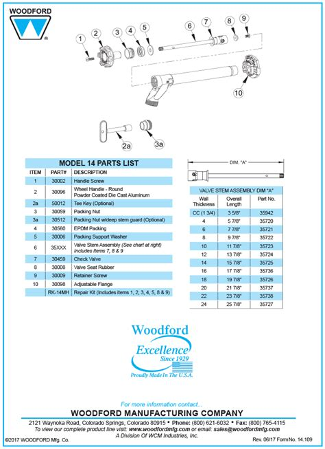 Woodford Faucet Model 14 by Woodford Model 14 Freezeless Faucet