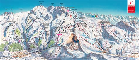 Zermatt/Breuil-Cervinia (Matterhorn ski paradise) - SkiMap.org