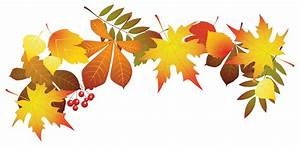 Background clipart autumn leaves - Pencil and in color ...