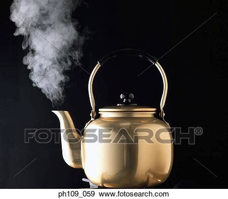 kettle  steam stock photo ph fotosearch