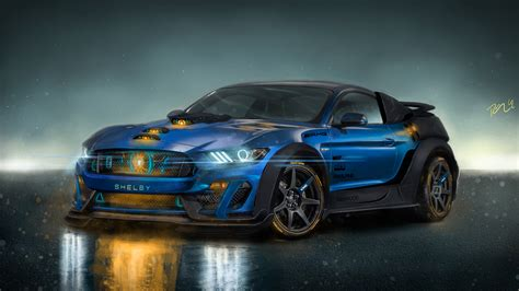 shelby gtr custom cgi  wallpaper hd car wallpapers
