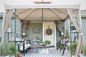 Cool, Outdoor, Living, Space, Ideas, On, A, Budget
