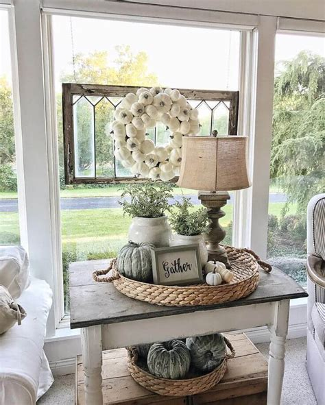 Decorating Ideas For End Tables by 35 Best Farmhouse Living Room Decor Ideas And Designs For 2019