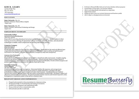 resume after college berathen