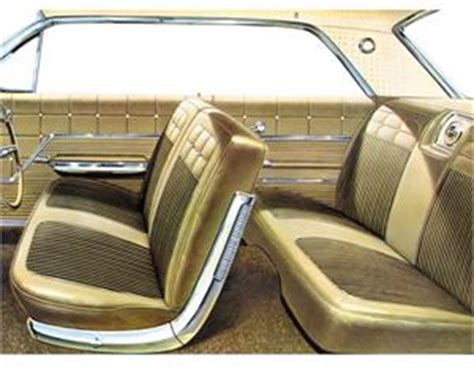 seat upholstery imported  impala seat cover front