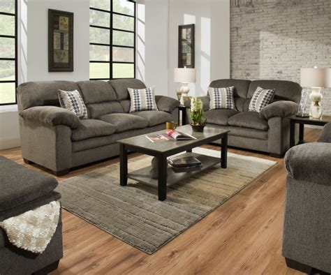 loveseat c chair 3683 sofa and in harlow ash and chestnut