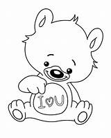 Coloring Printable Bear Miss Sorry Im Getdrawings Getcolorings Sketch Colorings Everfreecoloring Template sketch template