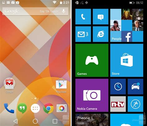 windows phone vs android android vs windows which you should android crush