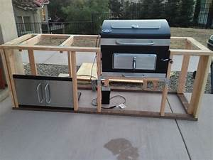 It's started!! I took apart the charcoal grill and its