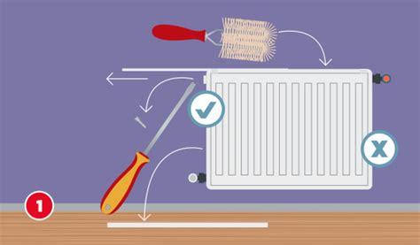 heizkörper gitter entfernen heizk 246 rper reinigen schritt f 252 r schritt hagebau de