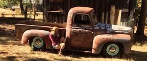 1953 International L110 Shortbed Farm Truck  Patina  Shop