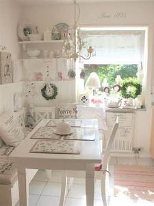 Schreibtisch Shabby Chic Look : 25 charming shabby chic style kitchen designs godfather ~ Lizthompson.info Haus und Dekorationen