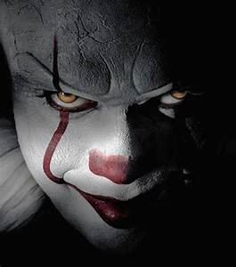 Pennywise the Clown from Stephen King's It for Halloween