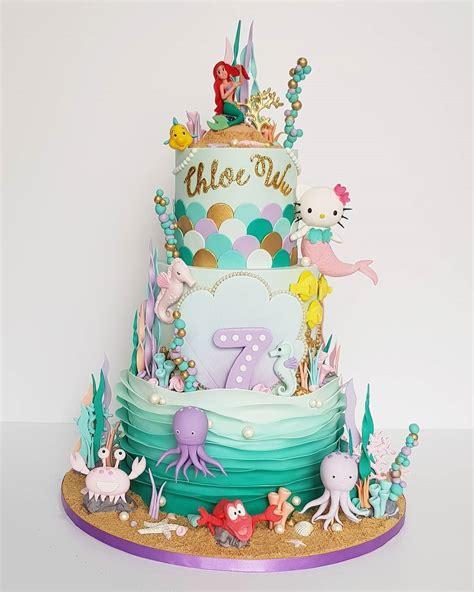 Mermaid Cake - Big | Celebrate Kids' Birthday Party in ...
