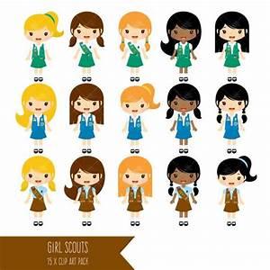 27 best Scout girl digital clip art images on Pinterest ...