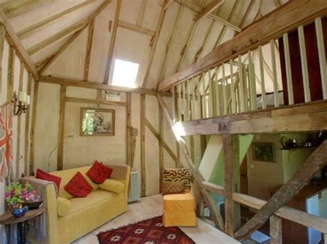shed with sleeping loft restored tiny garden cottage in
