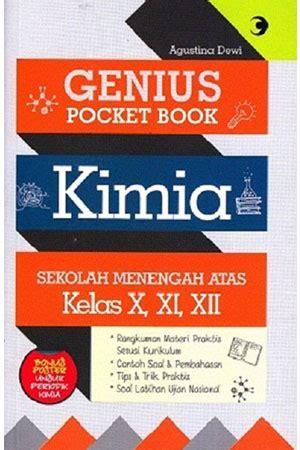 Toko Teknik Malang Jual Buku Genius Pocket Book Kimia Sma Kls X Xi Xii Toko