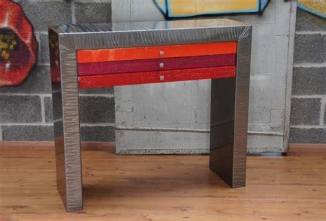 cr馘ences pour cuisine artisan table table basse mtal bois design industriel souvenir brbre bougeoire